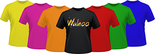 custom printed shirts by wahoo screen graphix
